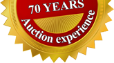More than 70 years Auction experience
